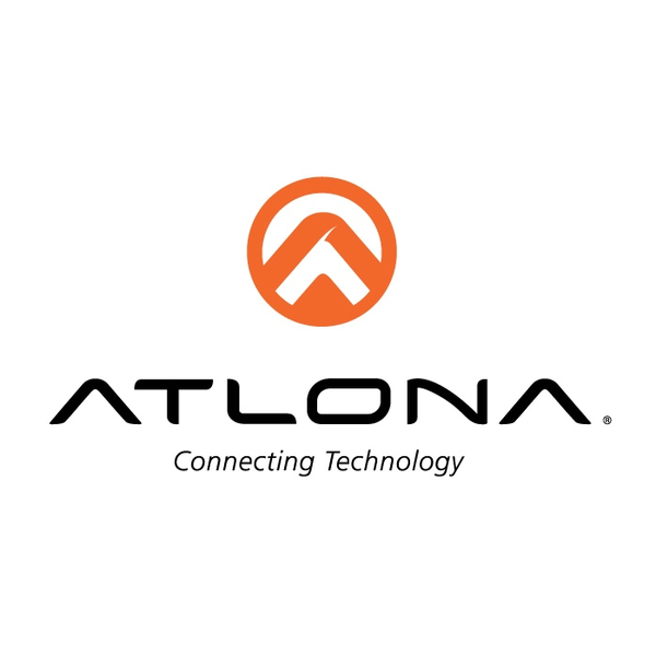 Atlona logo stack vertical