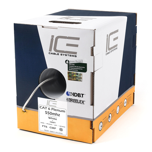 Ice 0037 cat 6 plenum