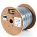 164-CAT5E350 Ice Cable 1-16/4 65 strand, 1- cat5e 350mhz,gray/blue stripe,500'