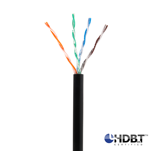 CAT5E-OUTDOOR Ice Cable 24 gauge, 4 Pair, Solid Core, 350mhz, CMX Rated Category Cable - 1000 Feet